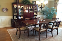 six seater dining room chairs