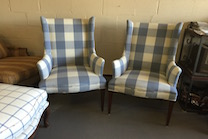 small wing chairs