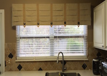 custom window treatment