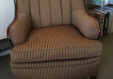 jackie channel wing chair
