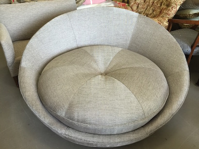 unique round chair